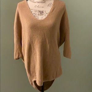 Express quarter sleeve long back sweater